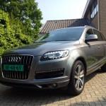 Audi Q7 facelift.