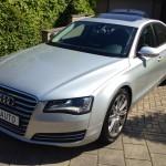 Audi A8. Ruimte en comfort.