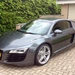 Audi R8 r-tronic. Nogal een verschijning.