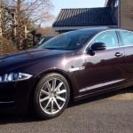 Jaguar XJ. Apart en luxueus.