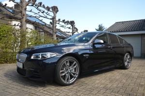 Onlangs geïmporteerd een BMW M550d.